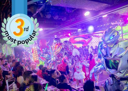 No.3 Robot Restaurant Show -20% Save & 1 Drink included-