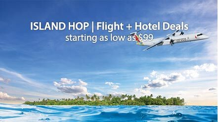 ISLAND HOP | Flight + Hotel Deals starting as low as $99
