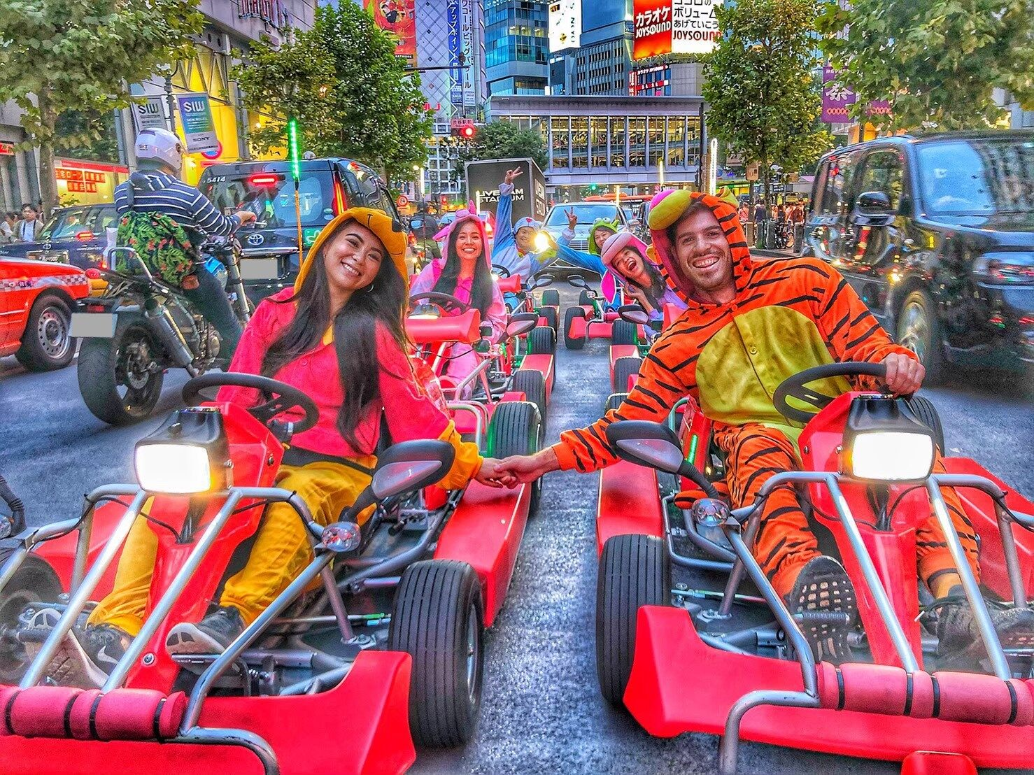 Public Road Go-Kart Tour 1 Hour Course from Shibuya!, Things