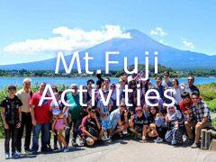 MtFuji Activities