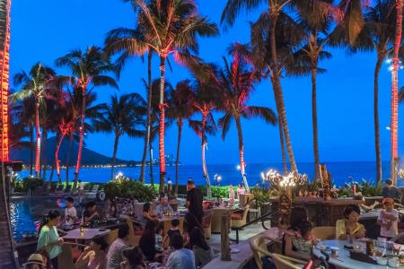 Starlight BBQ at Sheraton Waikiki