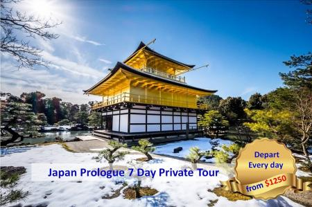 Japan Prologue 7 Day Private Tour