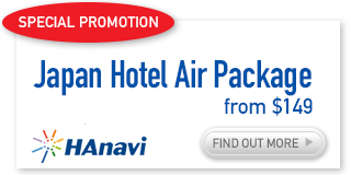 Japan hotel & Air Package